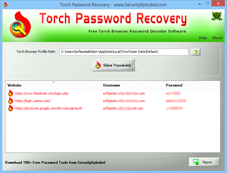 Download Torch Password Recovery 2 0