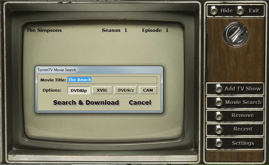 how to download tv series using utorrent