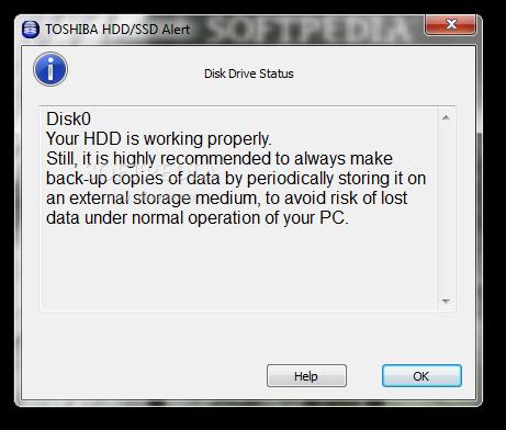 Download Toshiba HDD/SSD Alert 3.1.64.12