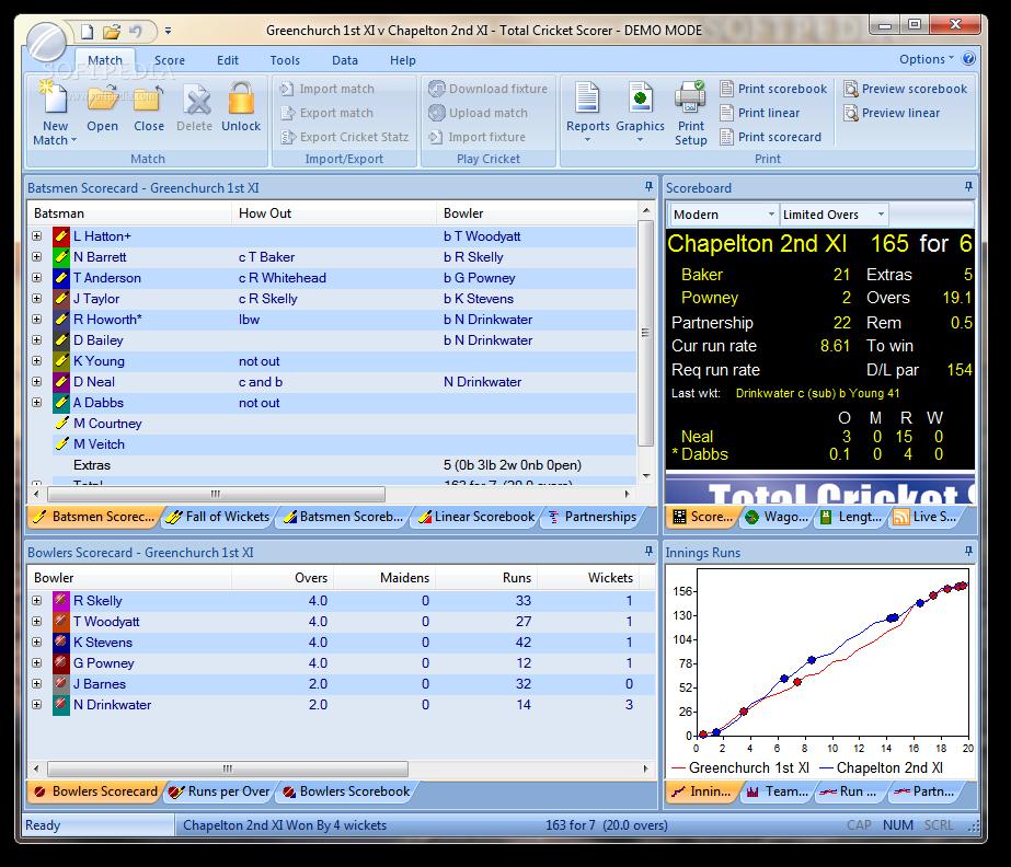 Download Total Cricket Scorer 10.0.00.00