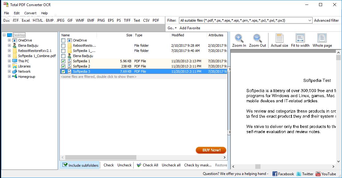 Download Total PDF Converter OCR 2 1 142