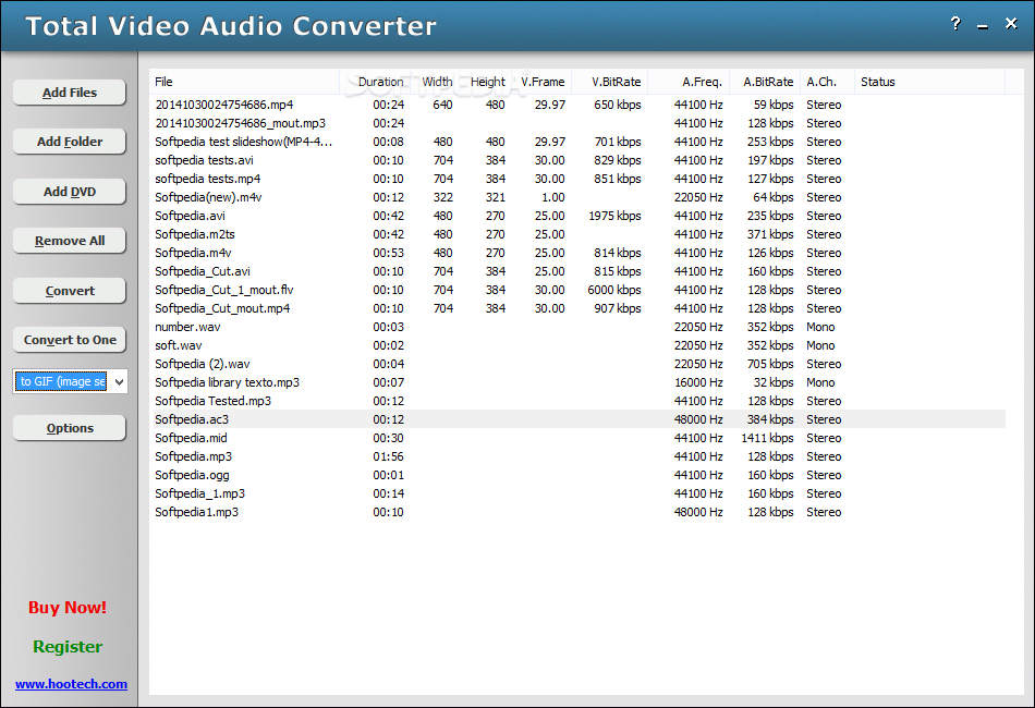 Free Video to Audio Converter for Windows