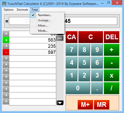 Total 3d Home Design Software Free Download: Download TouchPad Calculator 6