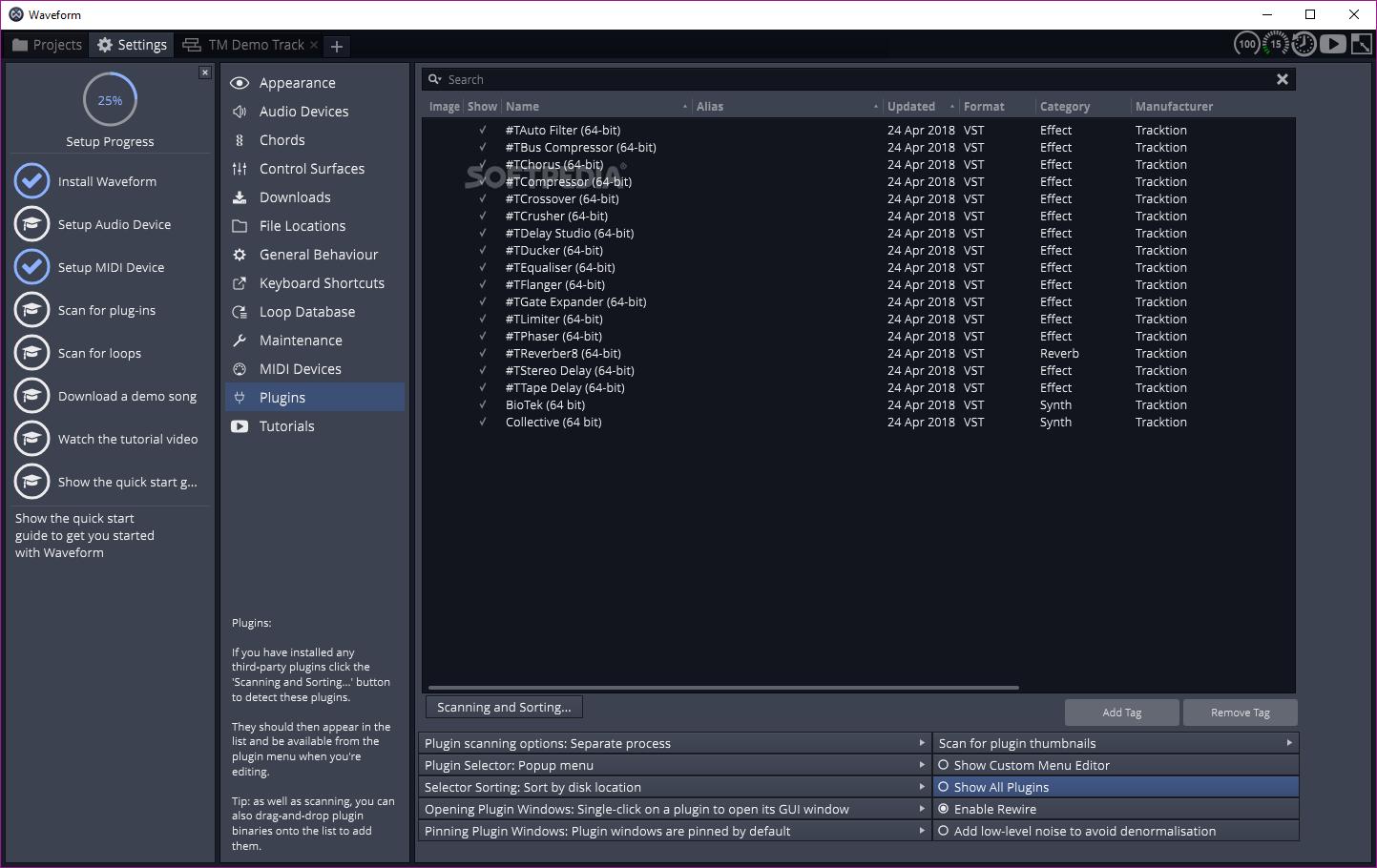 Download Waveform (Tracktion) 9 1 1
