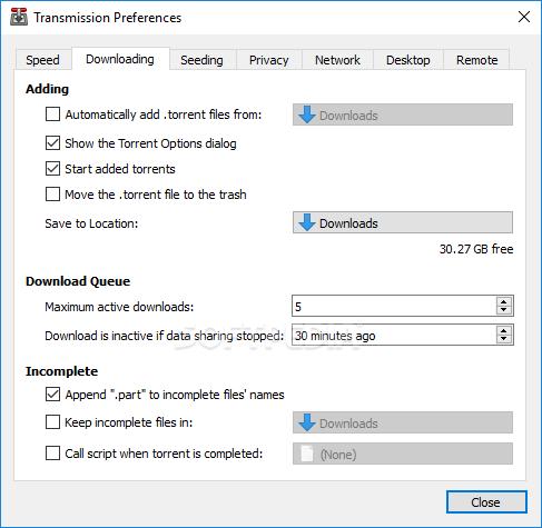 Download Transmission-Qt 2 94