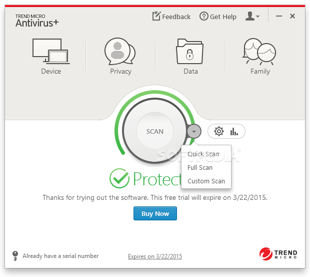 Download Trend Micro Antivirus+ 15 0 1172
