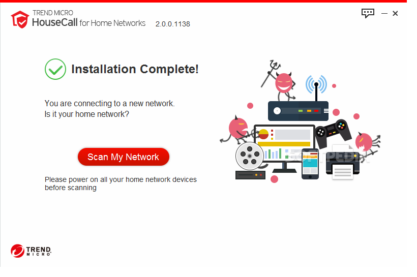Download Trend Micro HouseCall for Home Networks 2.1.1142