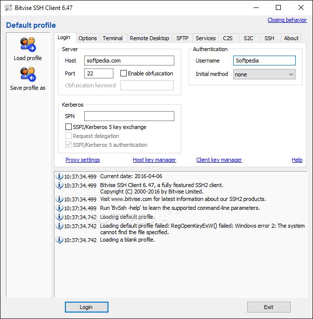 Download Bitvise SSH Client 8 35