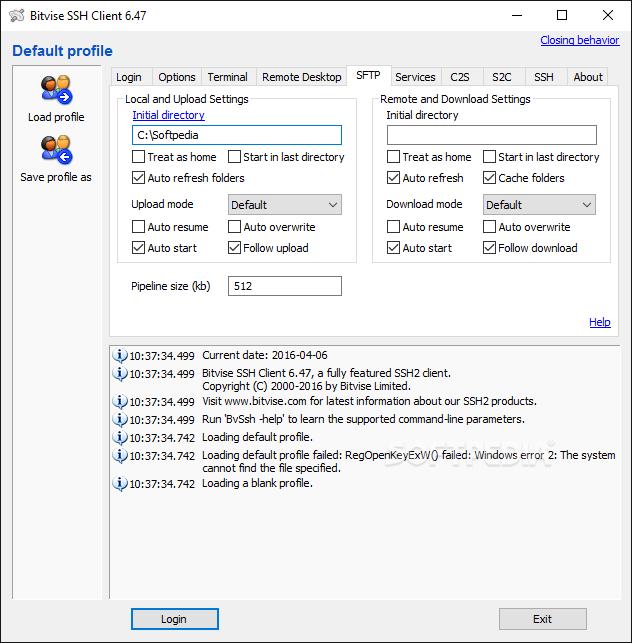 Download Bitvise SSH Client 8 34