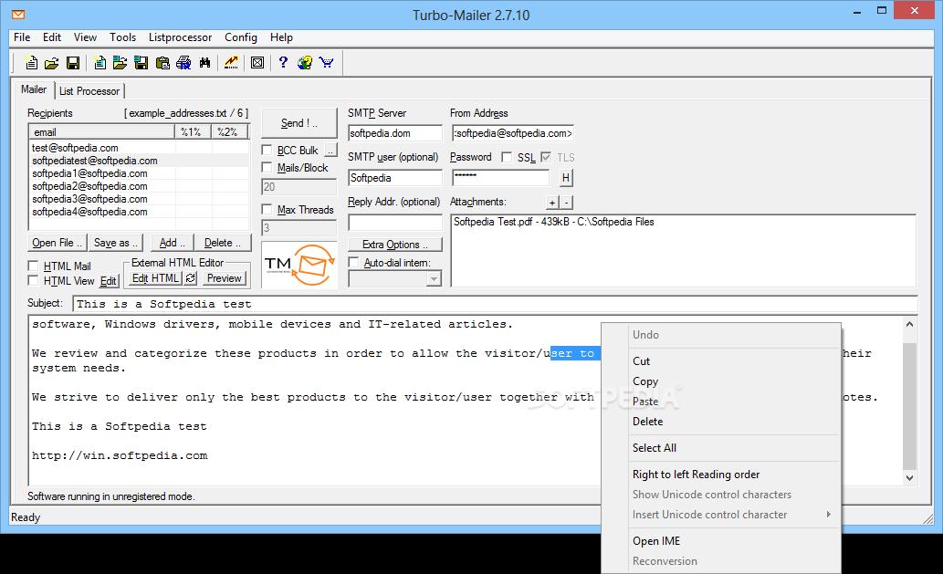 turbo mailer