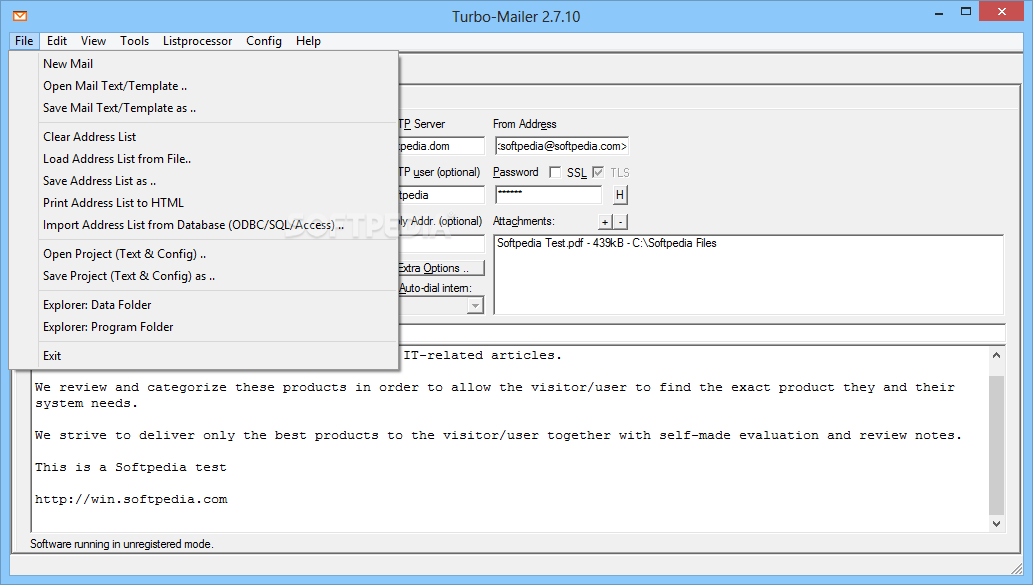 Download Turbo-Mailer 2 7 10