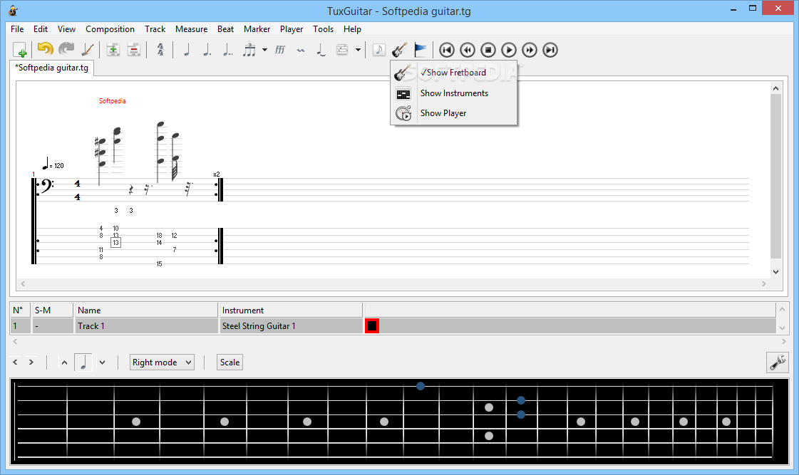 tuxguitar windows 8
