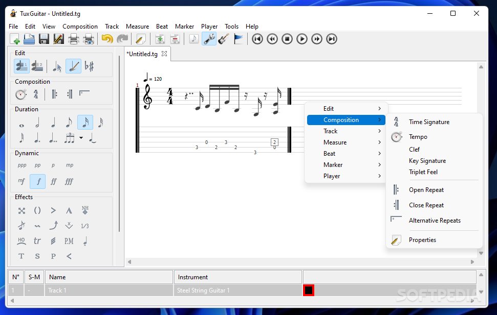tuxguitar pour windows 7