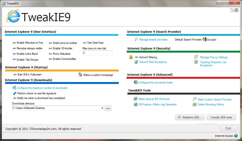 Download TweakIE9 2 0 145 0