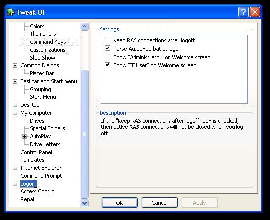 Tweak UI free Download for Windows PC