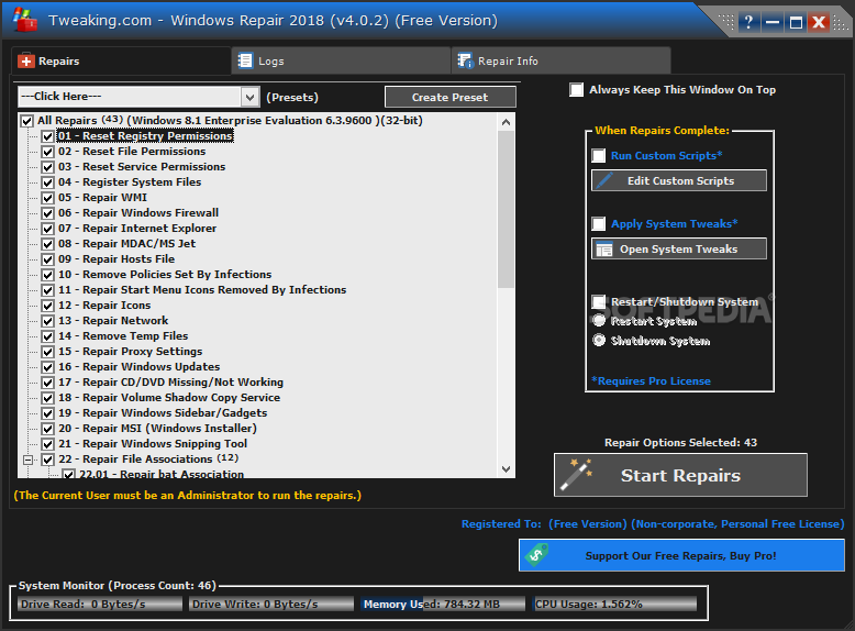 how to get into system repair windows 7