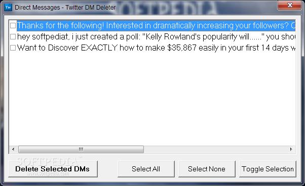 Download Twitter DM Deleter 1 0