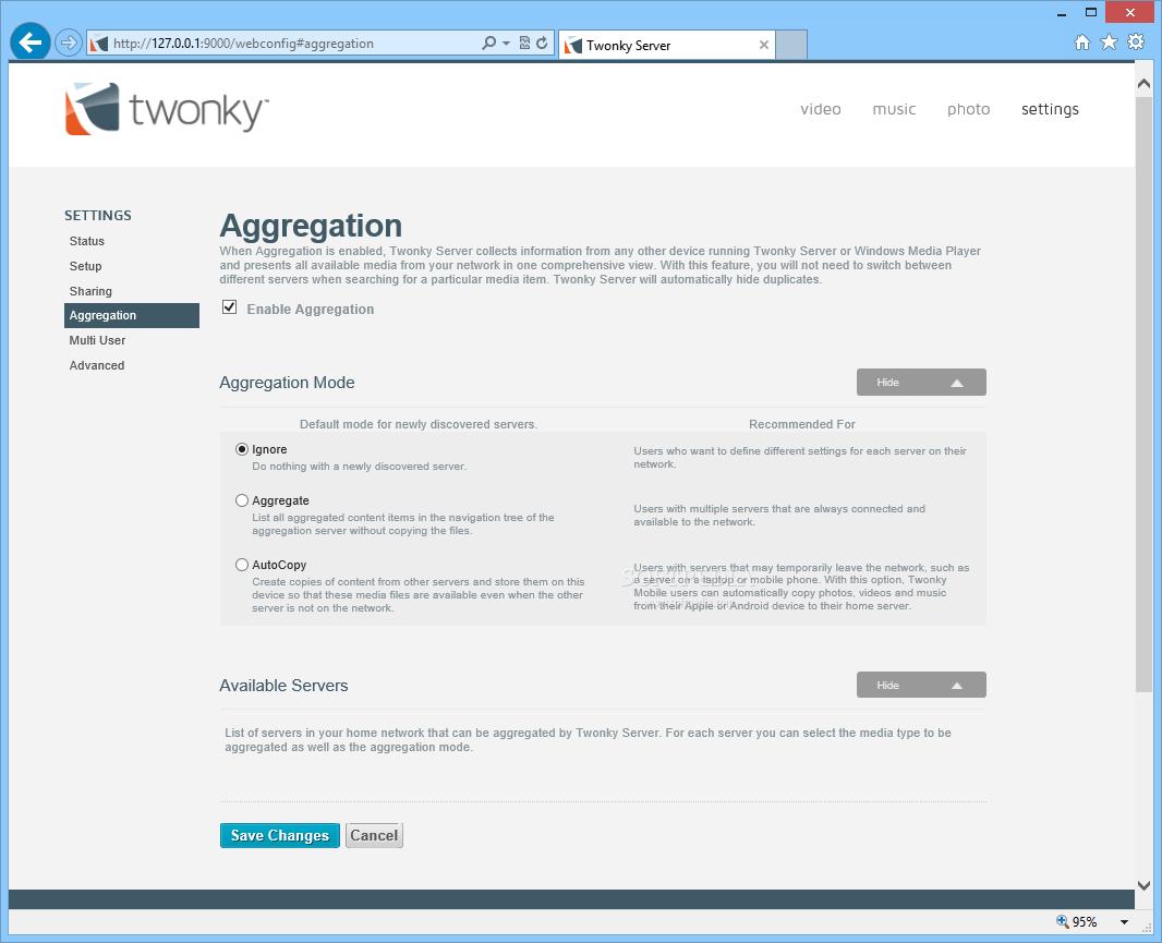 Twonky Server