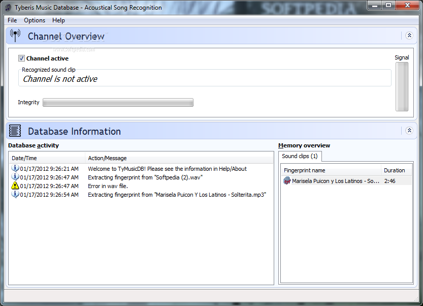 DOWNLOAD Tyberis Music Database 2 1 3 + Crack Keygen Serial | UPDATED