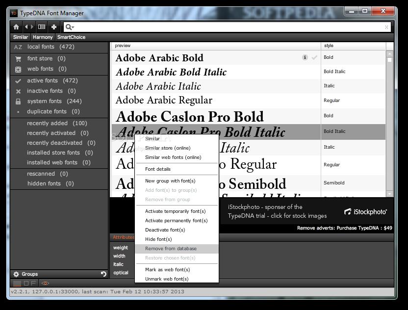 Download TypeDNA Font Manager 2 7 1