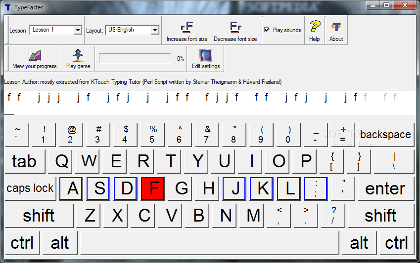 Download TypeFaster 0.4.2