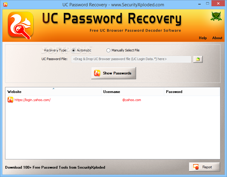 Download UC Password Recovery 2 0