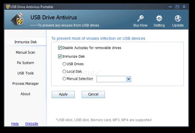 Download USB Drive Antivirus Portable 3.02 Build 0520