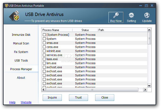antivirus usb drive free download