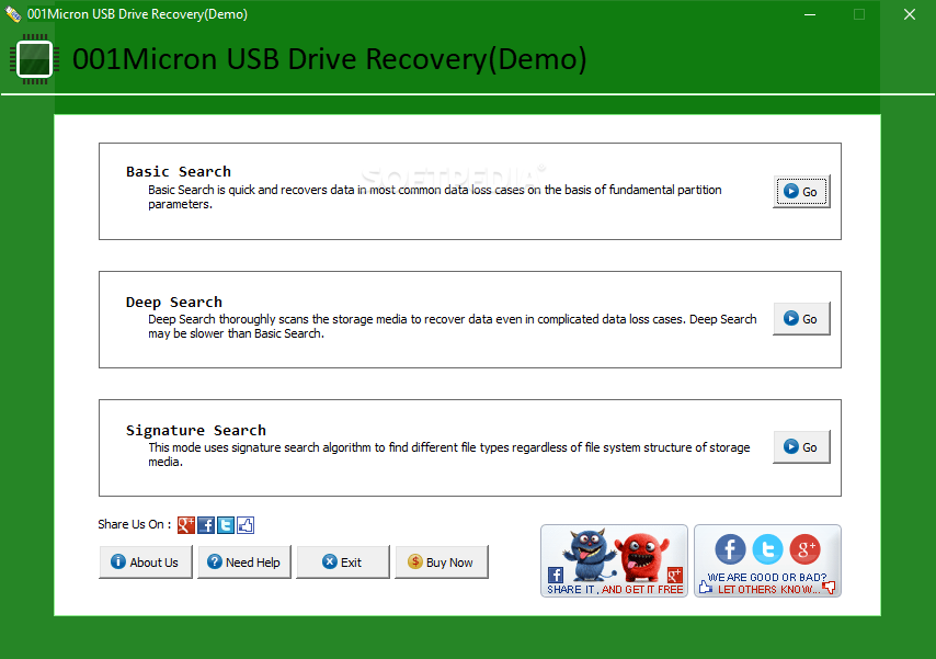 Download USB Drive Data Recovery 6 1 1 3