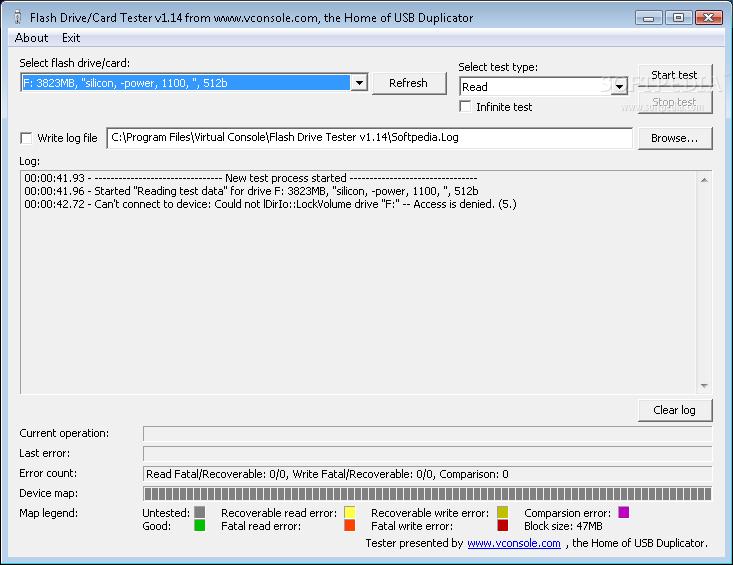Download Usb Flash Drive Tester 1 14