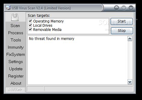 Download USB Virus Scan 2 44 Build 0712