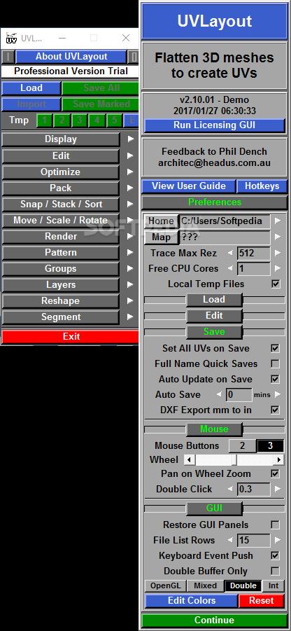 headus uv layout free full download