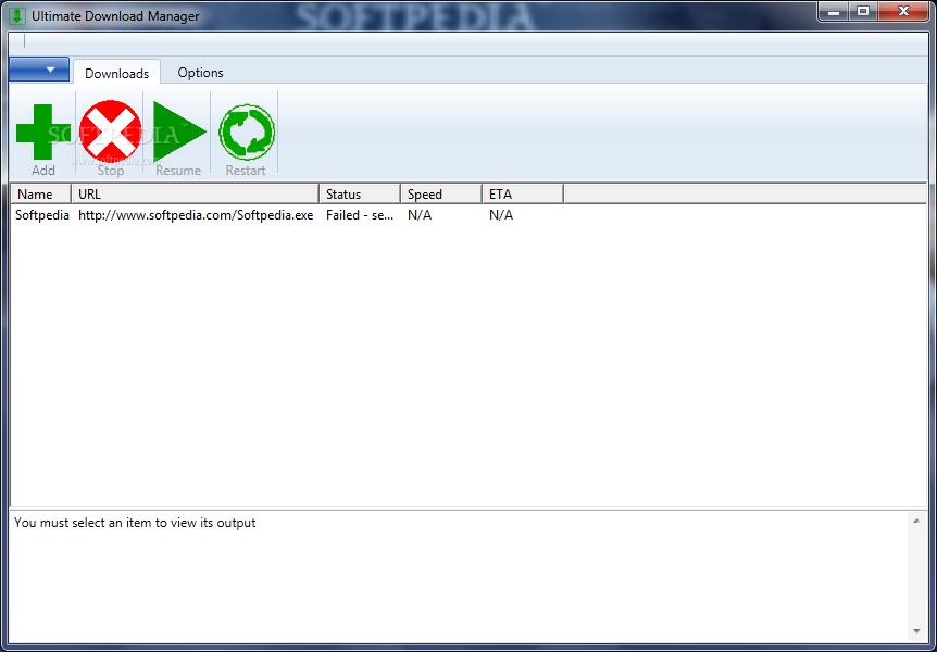 Download Ultimate Download Manager Alpha 1