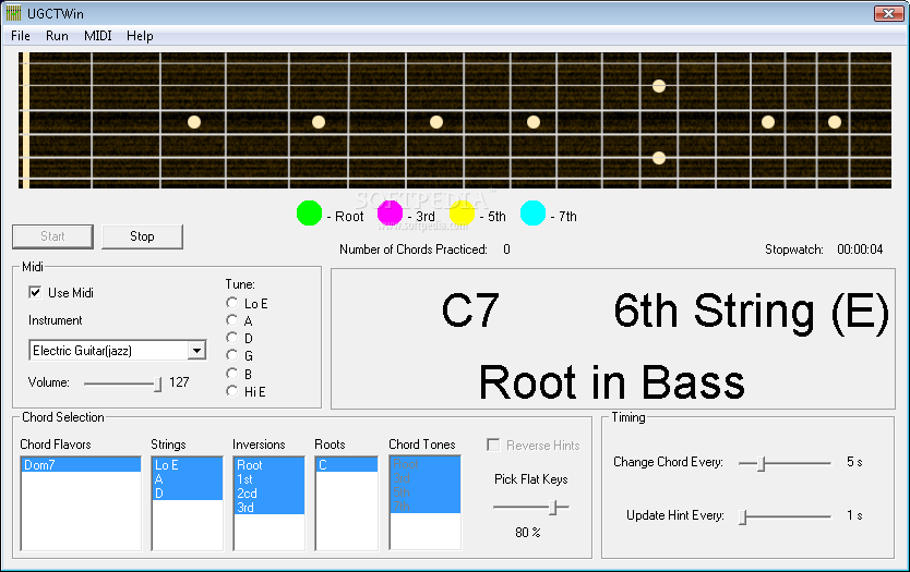 Download Ultimate Guitar Chord Trainer 1.1