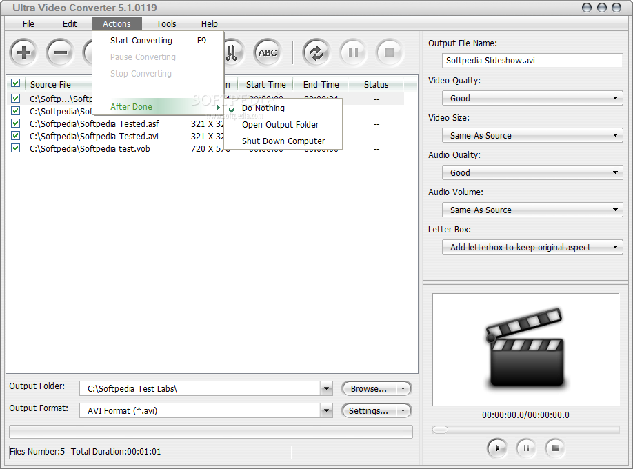 Download Ultra Video Converter 5.4.1208 ... #4 Ultra Video Converter - screenshot #5 ...