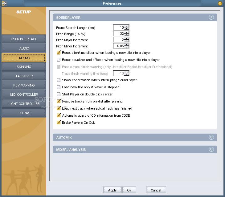 Download UltraMixer Free 2 4 6 / 2 4 7 RC2