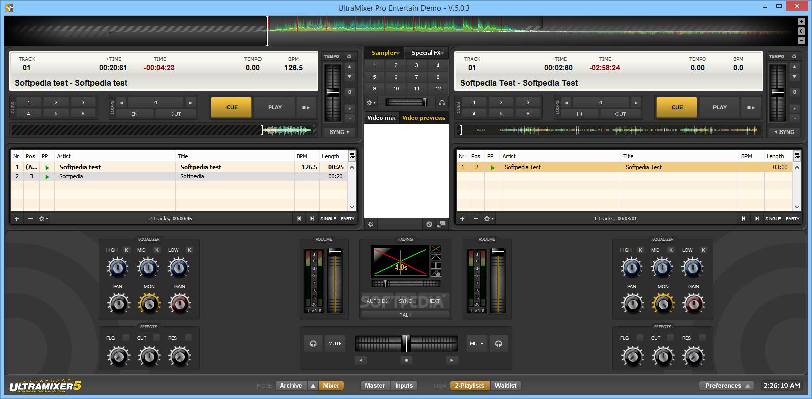 UltraMixer 6.0.8