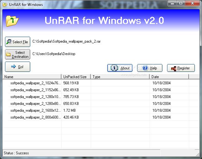 Download UnRar 2 0 4