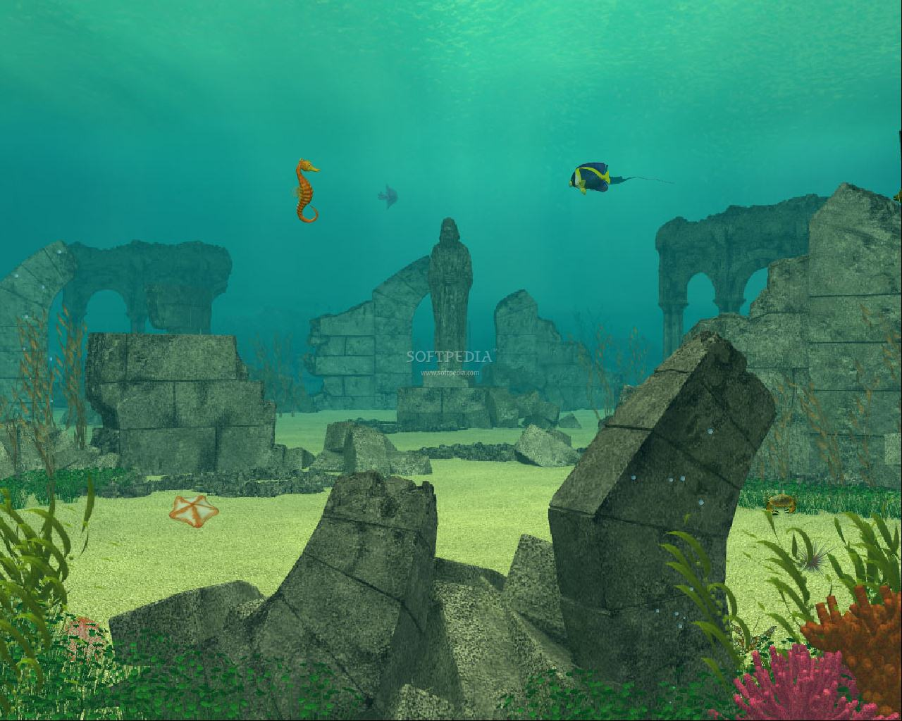 Underwater ruins animated wallpaper this is the image that