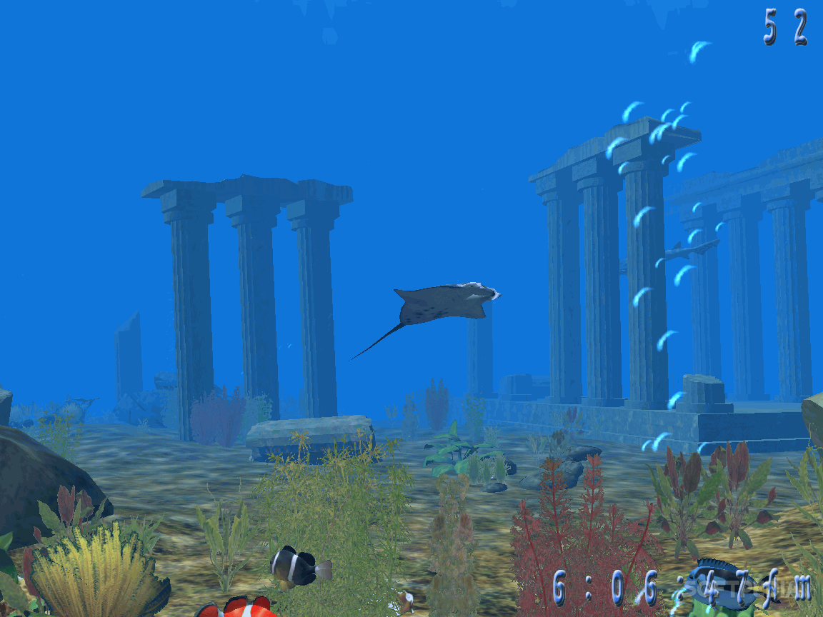 Underwater world 3d screenshots