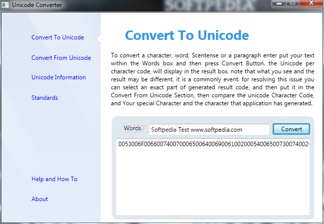 Download Unicode Converter 0 6