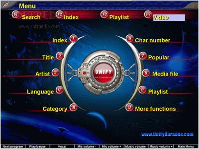 Download Unify Karaoke Jukebox Basic Edition 8 51