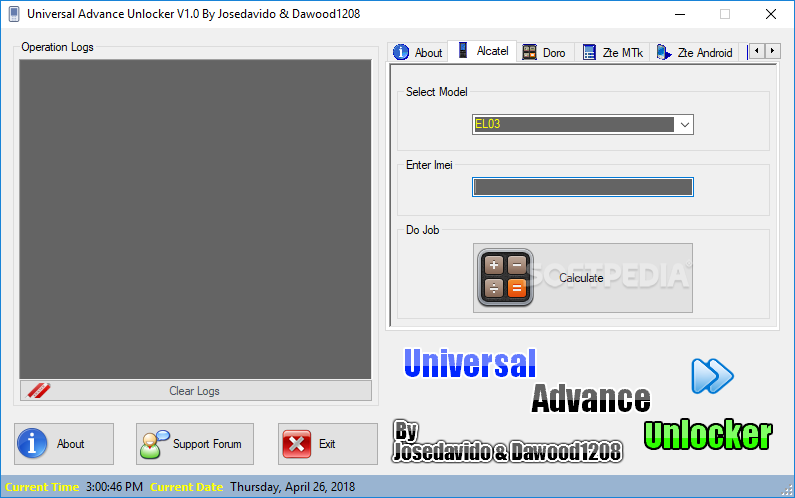 Universal advance unlocker инструкция