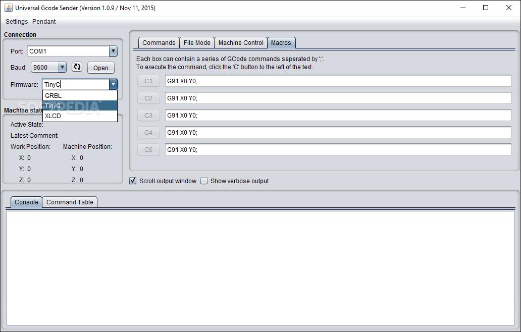 Download Universal Gcode Sender 2 0 0