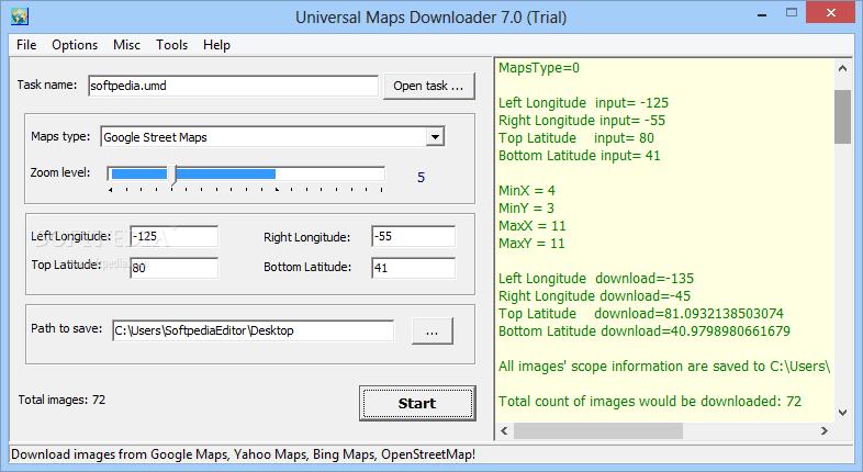 Download Universal Maps Downloader 9 926