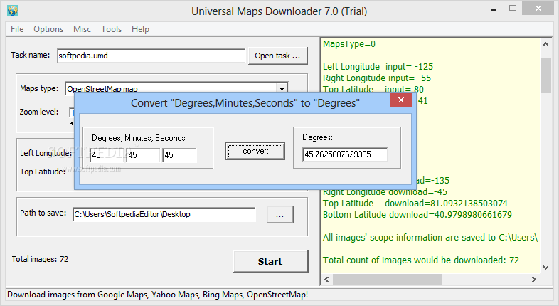 Download Universal Maps Downloader 9.925 on