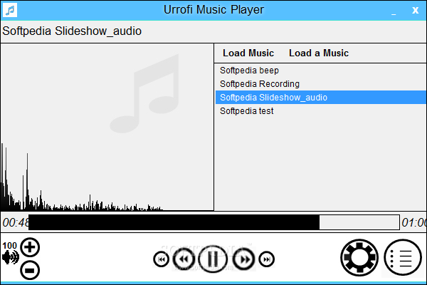 Urrofi Music Player
