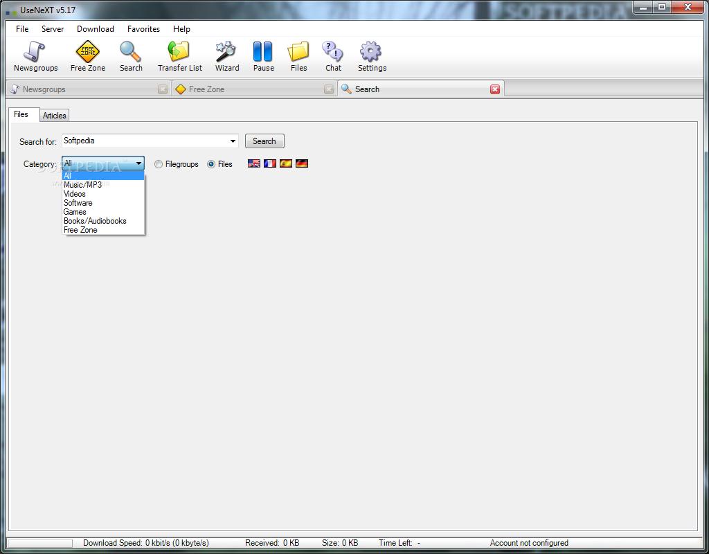 usenext software