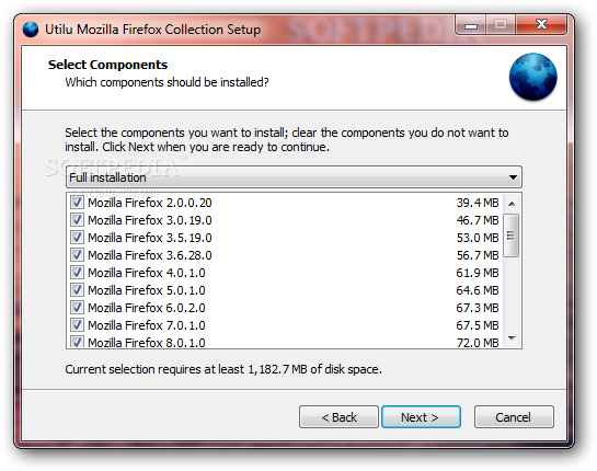 Utilu Mozilla Firefox Collection 1.1.0.0