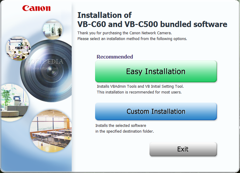 Driver UPDATE: Canon VB-C500VD Network Camera